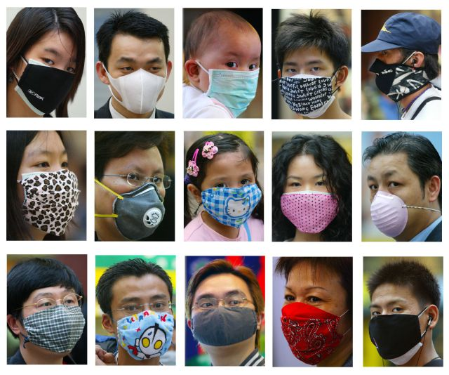 asia-variety-face-masks-smog-pollution