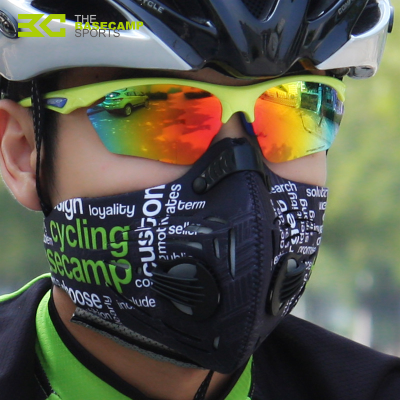 Cycling-air-face-mask-protection-pollution