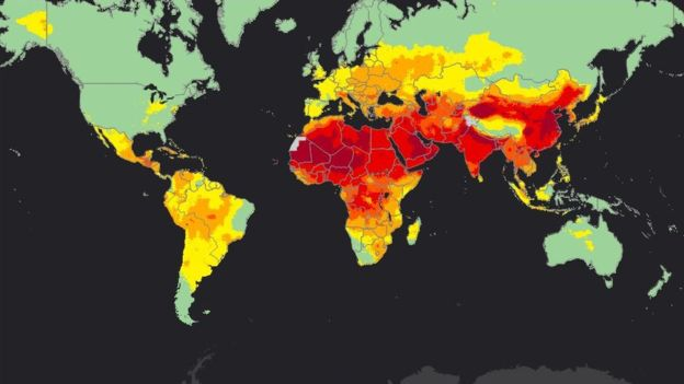 World-map-air-pollution