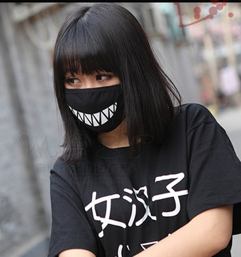 mouth-mask-style-cute