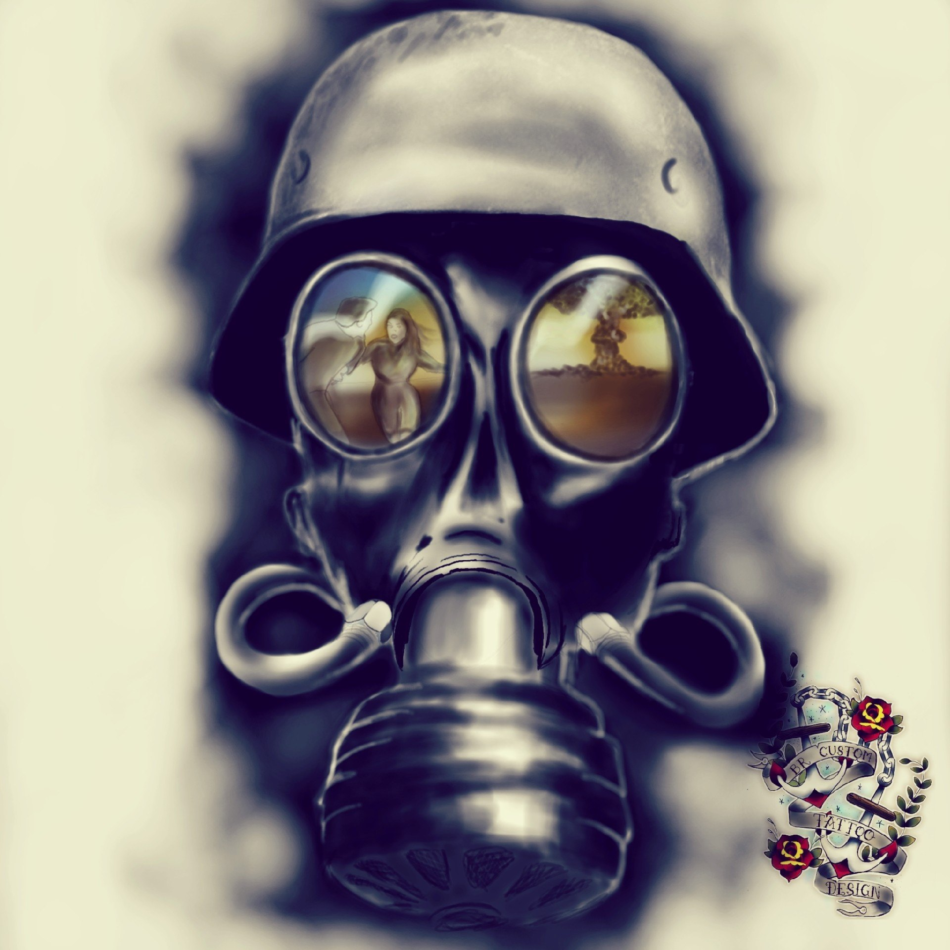 Air Pollution Skull : Do any anti pollution masks work look at the research