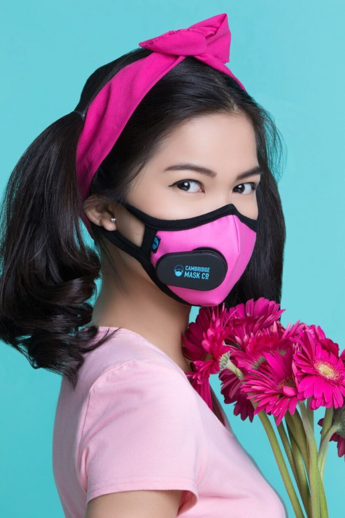 New Smart Cambridge Mask Connecting You Amp Clean Air Using