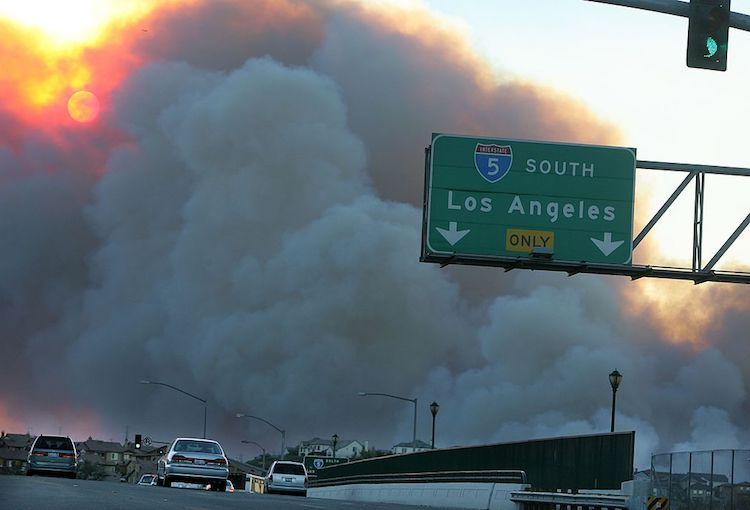 Los-Angeles-wildfire-smoke-air-pollution