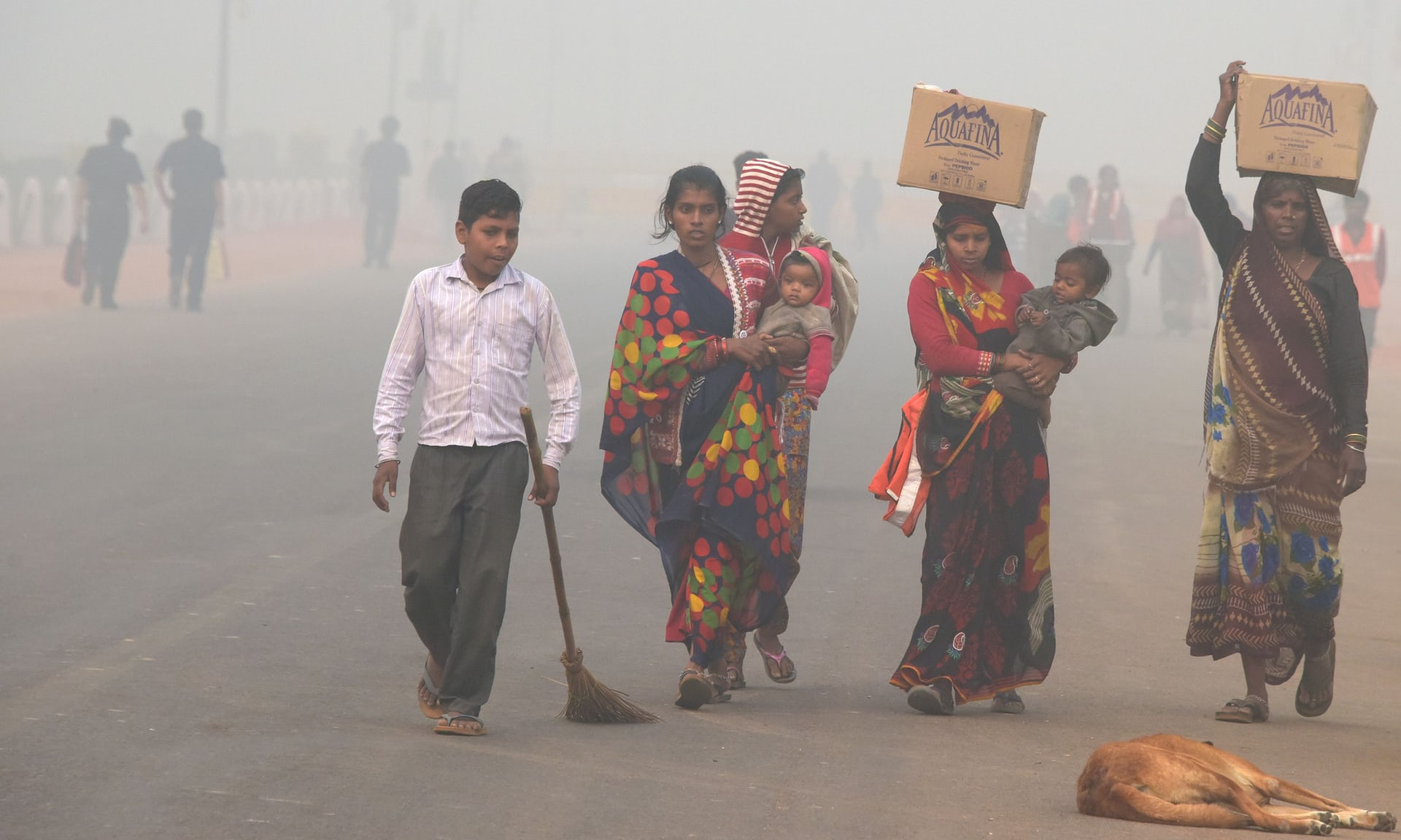 Air Pollution India Toxic Health Hazard
