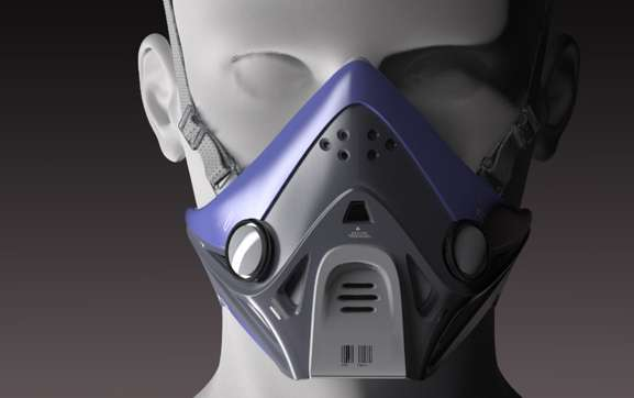 New Futuristic Mask Breathe Pure Air Best Air Filter